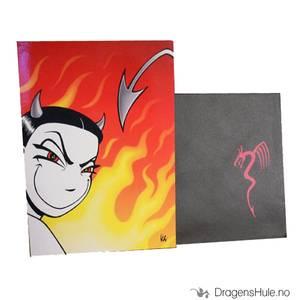Bilde av Gratulasjonskort: Nemi -Demonisk