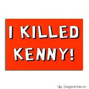 Bilde av Postkort: I Killed Kenny!