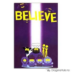 Bilde av Postkort: South Park: Believe