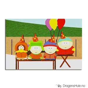 Bilde av Postkort: South Park: Birthday Party