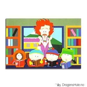 Bilde av Postkort: South Park: Captain Gaylord