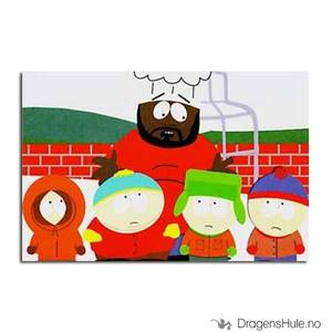 Bilde av Postkort: South Park: Chef A