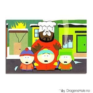 Bilde av Postkort: South Park: Chef Disaster