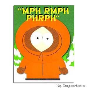 Bilde av Postkort: South Park: Kenny Mph Rmph Phrph