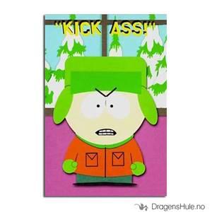 Bilde av Postkort: South Park: Kyle Kick Ass!