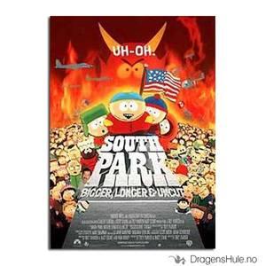 Bilde av Postkort: South Park: Movie Poster