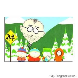 Bilde av Postkort: South Park: Mr Mackey Ballon Head
