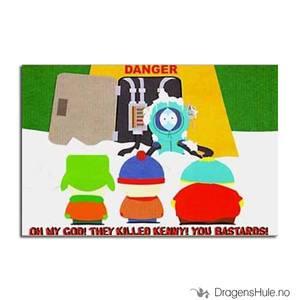 Bilde av Postkort: South Park: Oh My God! They Killed Kenny! B