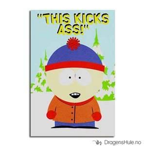 Bilde av Postkort: South Park: Stan This Kicks Ass!