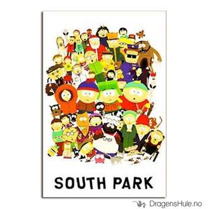 Bilde av Postkort: South Park: Town Characters