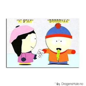 Bilde av Postkort: South Park: Wendy & Stan