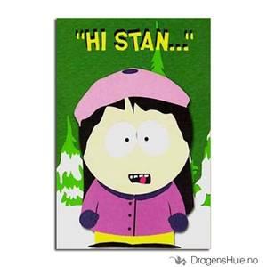 Bilde av Postkort: South Park: Wendy Hi Stan. . .