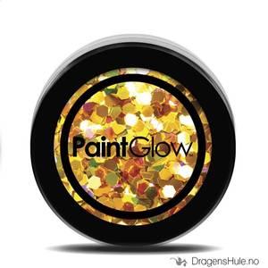 Bilde av Chunky Glitter: UV Holo 24 Karat -PaintGlow