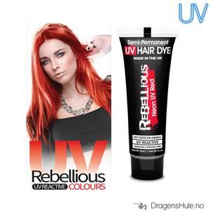 Bilde av  Hårfarge: UV Red Neon 13ml -Rebellious