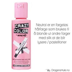 Bilde av Hårfarge: Neutral Mixer 100ml -Crazy Color (til å blande med)
