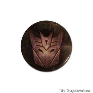 Bilde av Button 25mm: Transformers Decepticon