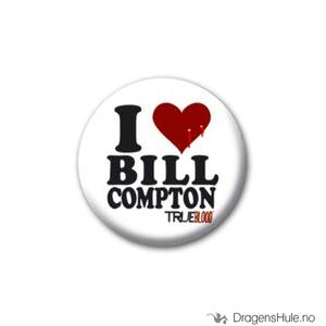 Bilde av Button 25mm: True Blood: I Love Bill Compton