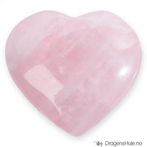 Bilde av Mineral: Hjerteformet 2,5cm Rosenkvarts / ´Rose Quartz´