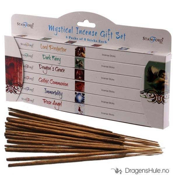 Røkelse:  Stamford Mystical Gift Pack