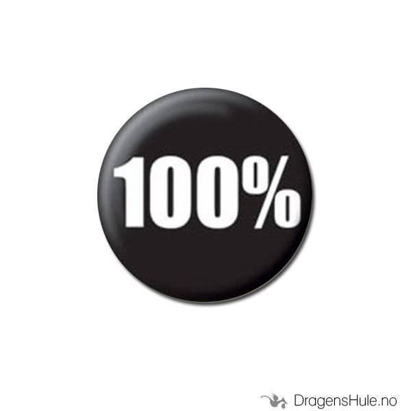 Button 25mm: 100%