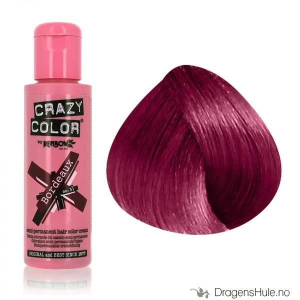 Hårfarge: Bordeaux -Crazy Color