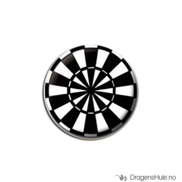 Button 25mm: Dartskive