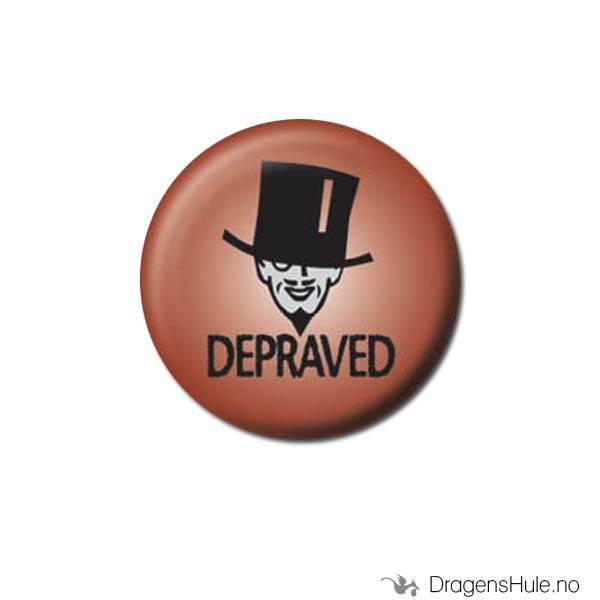 Button 25mm: Depraved