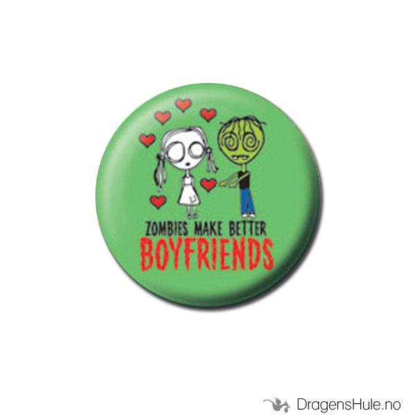 Button 25mm: Eve L. -Zombies make better boyfriends