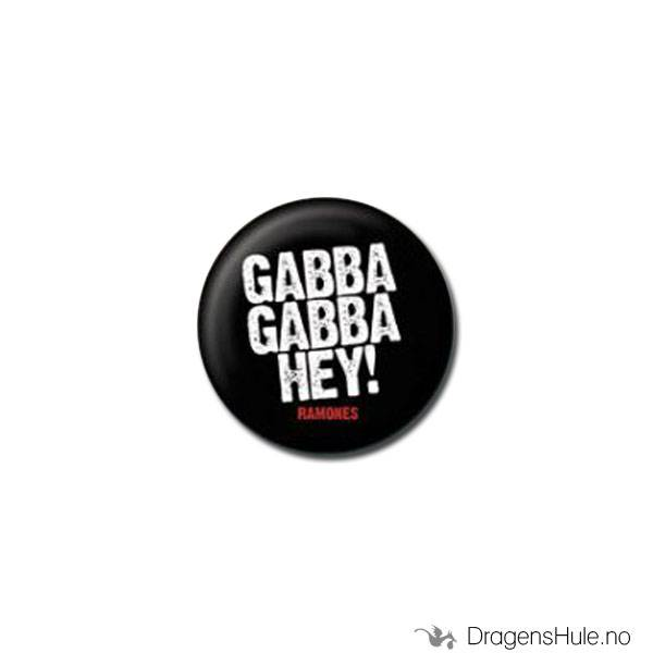 Button 25mm: Gabba Gabba Hey!
