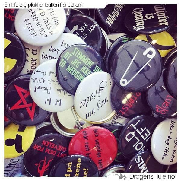 Button: Tilfeldig motiv -37mm