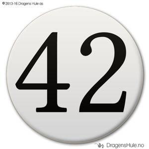 Bilde av  Button: 42 (velg farge)