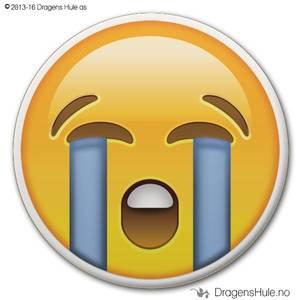 Bilde av  Button: Emoji Strigråt