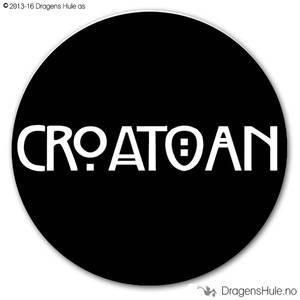 Bilde av  Button: Croatoan  (velg farge)
