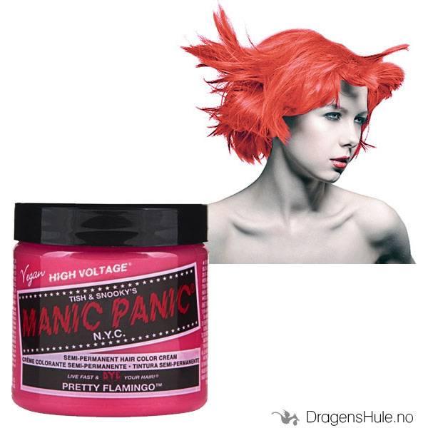 Hårfarge: Pretty Flamingo Classic -Manic Panic