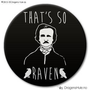 Bilde av  Button: Thats so Raven (velg farge)