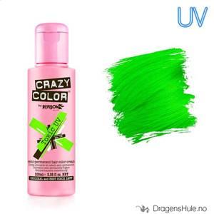 Bilde av Hårfarge:  UV Toxic Green -Crazy Color