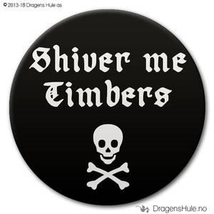 Bilde av  Button: Shiver Me Timbers (velg farge)