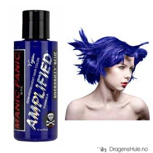 Bilde av Hårfarge: Rockabilly Blue Amplified -Manic Panic