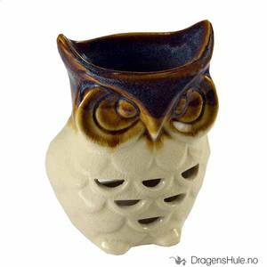 Bilde av Duftoljevarmer: Ugle -keramisk