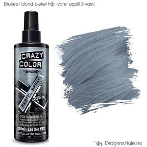Bilde av  Engangshårfarge: Pastel Spray Graphite -Crazy Color