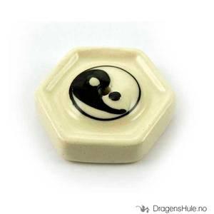 Bilde av Røkelsesfat: Yin Yang -4,5cm