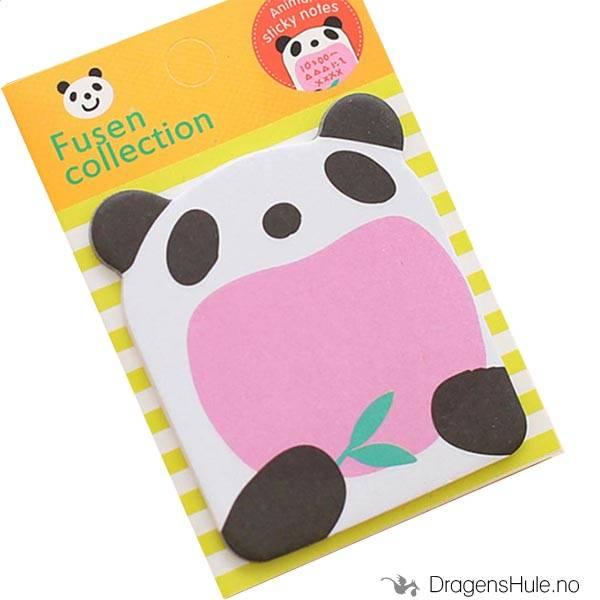 Papir: Feed Panda mini post-it blokk