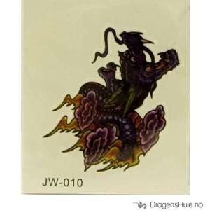 Bilde av Tattis: Drage JW010  tatovering (midlertidig)