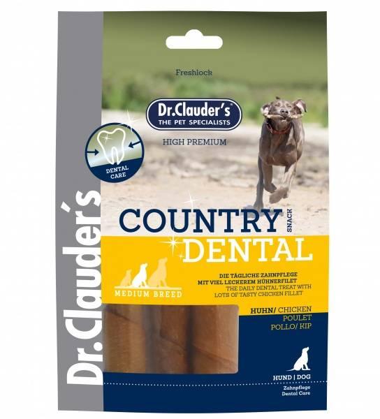 Country Dentalsnacks Kylling 120g. (Medium Raser)