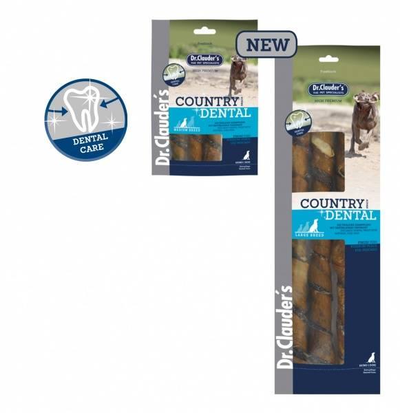 Country Dentalsnacks Fisk 100g. (Medium Raser)