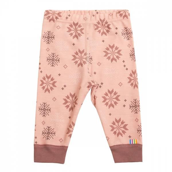 Bilde av Joha snow flock ull/bomull bukse, rosa