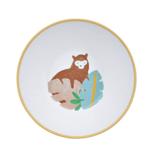 Bilde av Sebra dyp tallerken til barn, wildlife