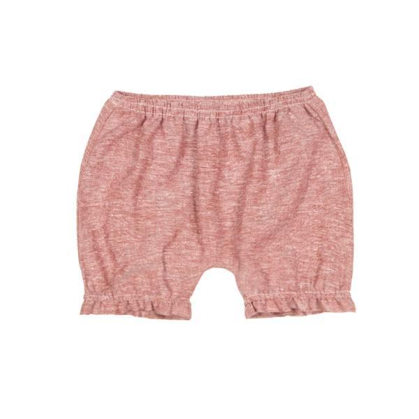 Bilde av Huttelihut shorts i lin til barn, stone
