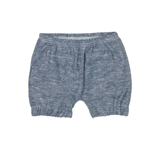 Bilde av Huttelihut shorts i lin til barn, jeans