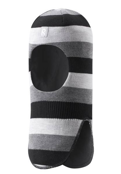 Bilde av Reima balaclava til barn med striper, grå